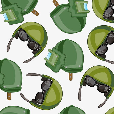 Military design seamless pattern.