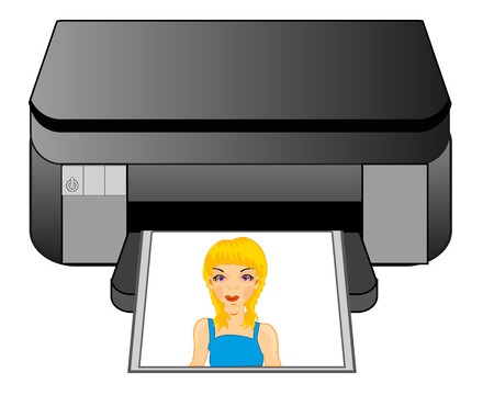 Office equipment colour printer