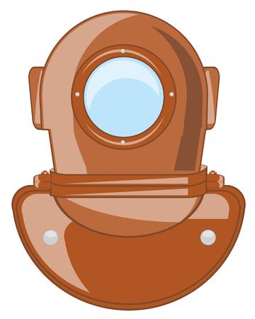 send diver pattern Vector illustration