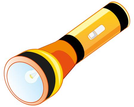 Flash-light on battery