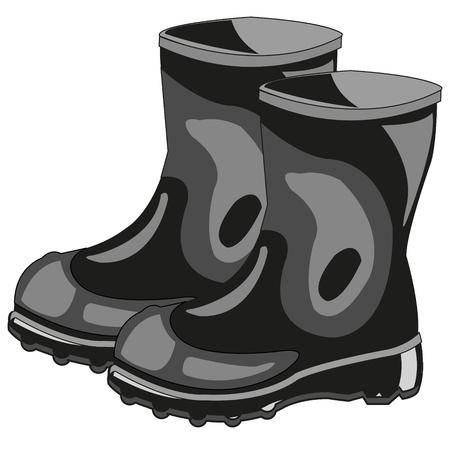 Boots rubber black