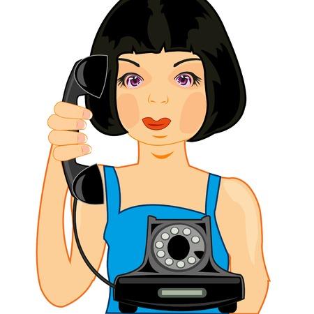 Girl calls up