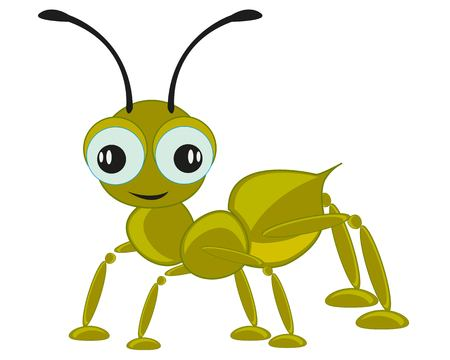 Cartoon insect ant Illustration