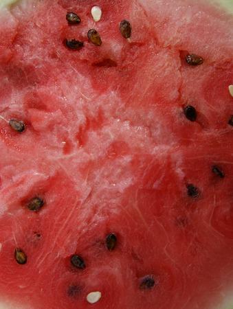 Ripe pulp of the berry watermelon Фото со стока