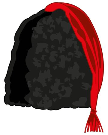 Vector illustration of the old-time ukrainian headdress  イラスト・ベクター素材