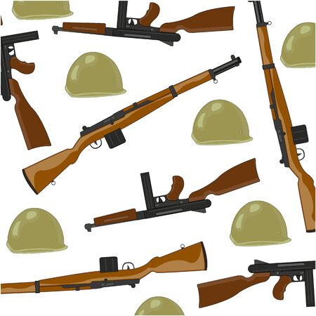 American small arms of the timeses of the second world war Çizim
