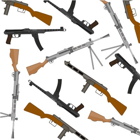Soviet weapon of the great domestic war pattern