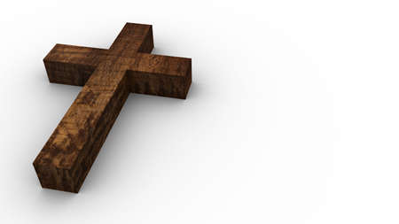 devoted: Old wooden cross