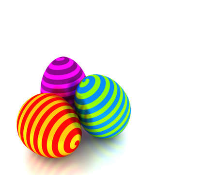 Whirly Easter eggs
