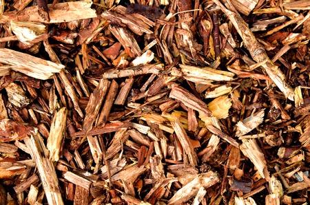 Brown mulching bark wooden texture Imagens - 32323244