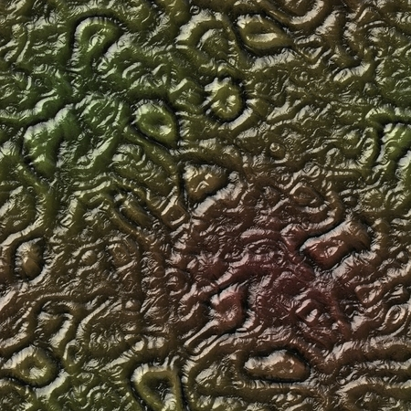 Brown seamless alien organic texture