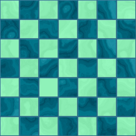 onyx: Seamless marble green chess board texture