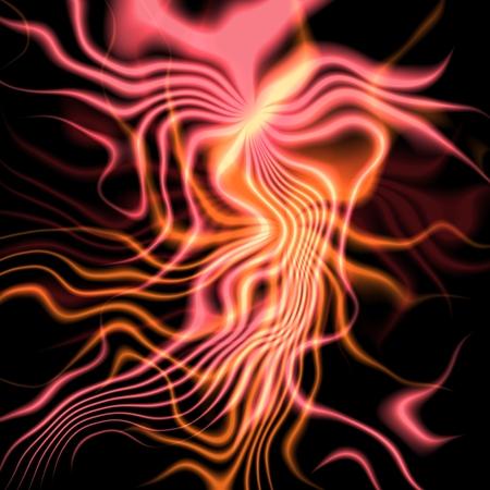 plasma: Red bright plasma abstract background