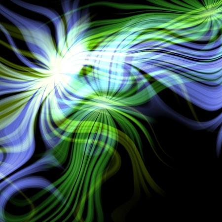 plasma: Blue, green bright plasma abstract background