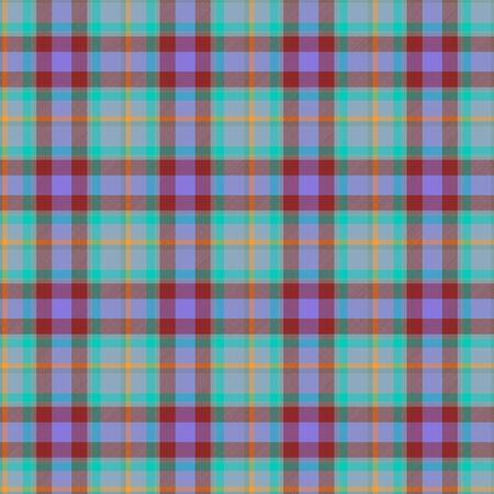 fab: Blue, green seamless tartan cloth pattern textures Stock Photo