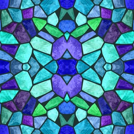 Beautiful seamless color kaleidoscope background Imagens
