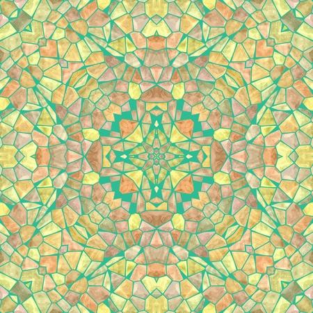 kaleidoscope: Beautiful seamless color kaleidoscope background Stock Photo