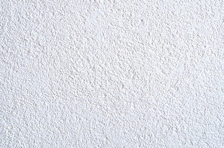 Detail of modern white rough plaster texture