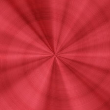 red metal: Generated red metal radial texture pattern