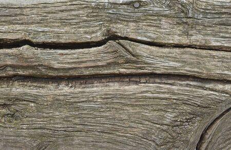 old desk: Texture of old wooden desk with large deep cracks