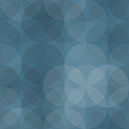 Seamless abstract pattern background illustration. Colors: pacific blue, manatee, gray, blue green, wild blue yonder.