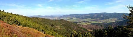Panoramic scene from