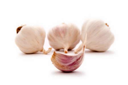 pungent: Allium sp. L'aglio � largamente usato per il suo sapore piccante. Archivio Fotografico