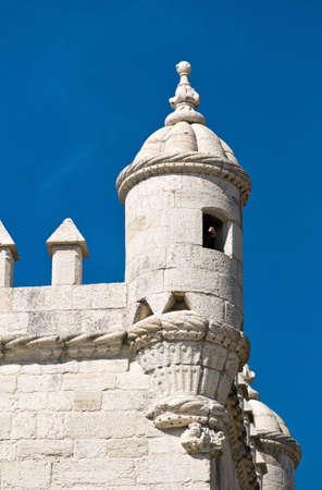 Belem Tower (Torre de Belem). Symbol of the Lisbon, listed in UNESCO World Heritage Site