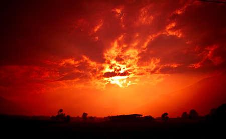 Sunset fields