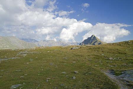 svizra: Bernina pass - Switzerland Stock Photo