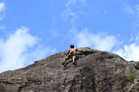 Bouldering, hiking & climbing Stock Photo - 10302198