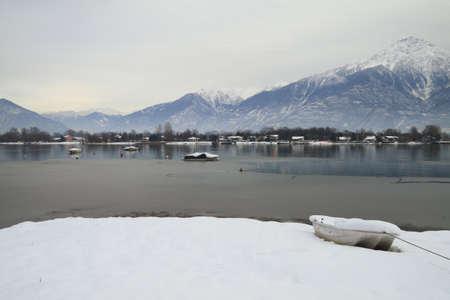 como: Como Lake Stock Photo