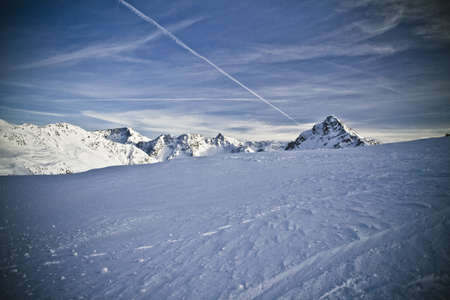 Bernina  Pass - Switzerlandb Stock Photo - 10464128