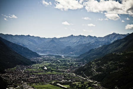 Valtellina panorama - Italy