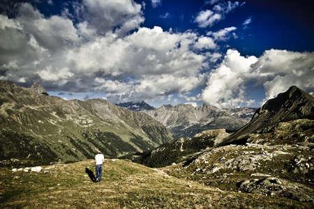 Bernina pass - Switzerland Standard-Bild