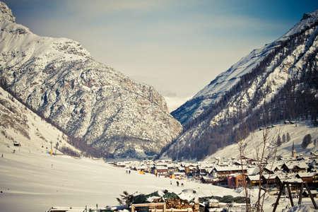 Winter Alps (Livigno Foscagno)