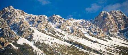 Winter Alps (Livigno Foscagno) photo