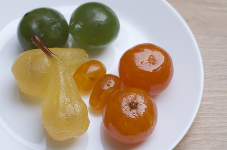 Fruit confit Stock Photo