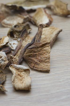 Dry Boletus edulis