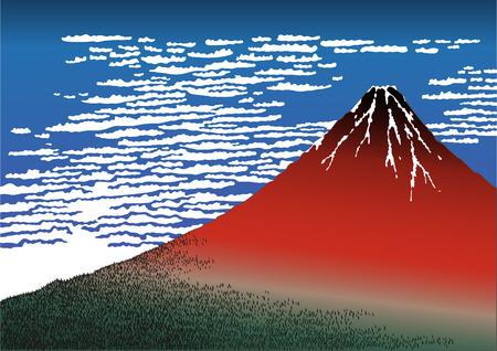 fuji: Red Fuji