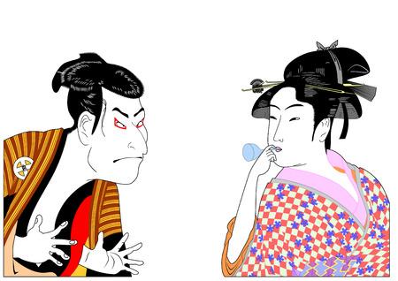 kabuki: Man and woman