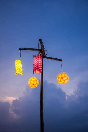outdoor lighting: Outdoor lighting Stock Photo
