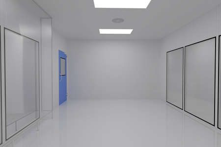 Clean Room in pharmaceutical factory photo