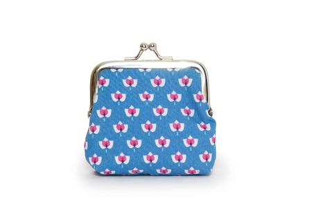 Change purse isolated on white background