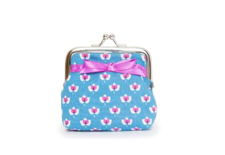 Change purse isolated on white background  photo