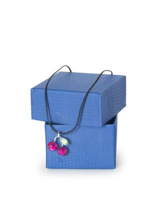 box with jewellery on the white background photo