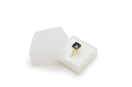 ring in a box isolated