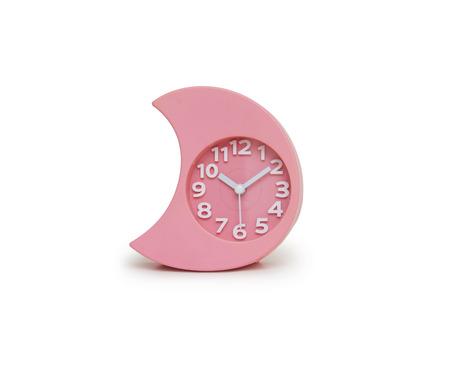 Alarm clock over white Stock Photo