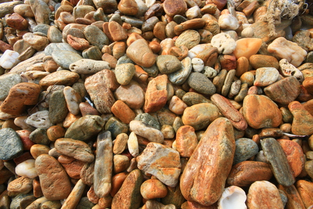 particulate: Wet stones pebbles