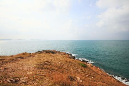 coastline: Beautiful coastline of Sea, Thailand Stock Photo